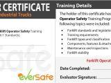 Forklift Operator Certificate Template Online Lift Truck Certification Training Csa B335 15