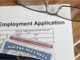 Form for social Security Card Name Change Listing social Security Numbers On Job Applications