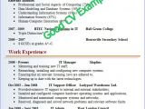 Format Of A Good Resume for Job Cv Resume Template Google Search Resume Good Resume