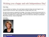 Fourth Of July Email Template 12 Best Images About Email Blast Design Real Estate On