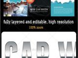 Franchise Brochure Templates Car Wash 3 Fold Brochure 02 Car Wash Brochure Template