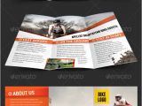 Franchise Brochure Templates Print Template Graphicriver Bike Tri Fold Brochure
