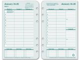 Franklin Planner Calendar Template Franklin Covey original Planner Refill Ld Products