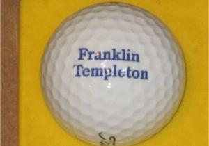 Franklin Templation Financial Franklin Templeton Logo Golf Ball Ebay
