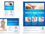 Free Advertising Flyer Design Templates Reflexology Massage Flyer Ad Template Design