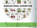 Free Agriculture Flyer Templates 19 Exhibition Flyer Designs Templates Psd Ai