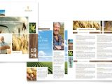 Free Agriculture Flyer Templates Farming Agriculture Brochure Template Word Publisher