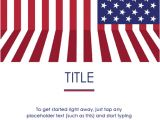 Free American Flag Flyer Template event Flyer