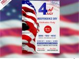 Free American Flag Flyer Template Usa Independence Day Flyer Template Free Psd Download Psd