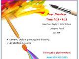 Free Art Class Flyer Template Painting Workshop Flyer Template Microsoft Word Templates
