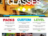 Free Art Class Flyer Template Pin by Leadzmachine Video Commercials On A5 Promotional