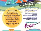 Free Art Class Flyer Template the Learning Tree Of Arts Inc Art Classes Portfolio