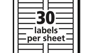 Free Avery 5066 Label Template Permanent File Folder Labels Trueblock Inkjet Laser Red