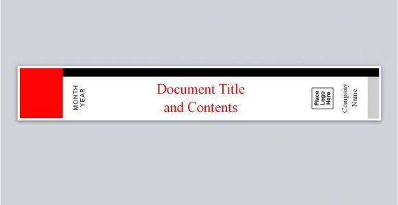Free Avery Binder Templates Similar to Avery Binder Spine Template