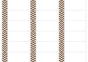 Free Avery Templates 5162 Free Chocolate Chevron Address Labels Compatible with