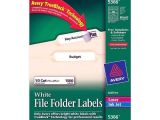 Free Avery Templates 5366 Avery 5366 White File Folder Labels nordisco Com