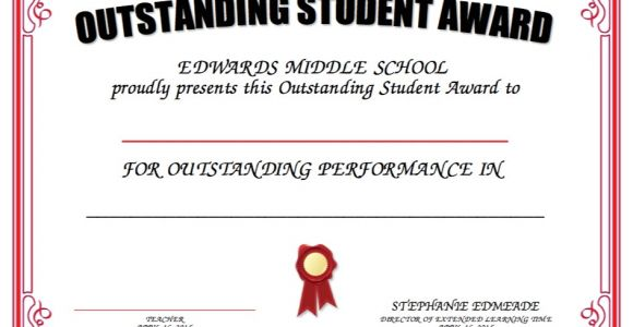 Free Award Certificate Templates for Students Award Certificate Template for Students Images
