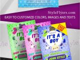 Free Baby Shower Flyer Template Baby Shower Free Psd Flyer Template Free Download 11008