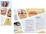 Free Bank Brochure Template Food Bank Volunteer Brochure Template Word Publisher