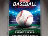 Free Baseball tournament Flyer Template Baseball Championship Premium Flyer Psd Template Psdmarket
