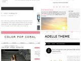 Free Beauty Blog Templates Five Of the Best Free Blog Templates Oh Zoe