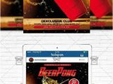 Free Beer Pong Flyer Template Beer Pong Championship Flyer Template Instagram Size