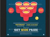 Free Beer Pong Flyer Template Beer Pong Flyer by Guuver Graphicriver