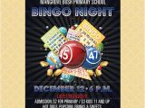 Free Bingo Night Flyer Template Bingo Flyer Bingo Night Poster Template Church School