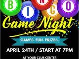 Free Bingo Night Flyer Template Bingo Game Night Flyer Template Postermywall