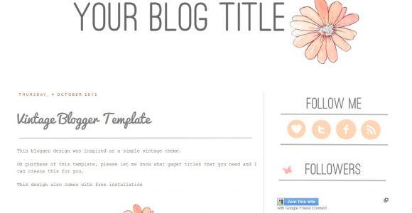 Free Blog Templates for Blogspot Free Blog Templates Cyberuse