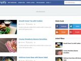 Free Blog Templates for Blogspot Simplify 2 Blogger Template Blogspot Templates 2018