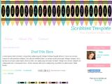 Free Blog Templates for Teachers Cute Blogger Template for Teachers Scribbles
