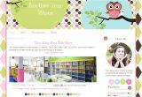 Free Blog Templates for Teachers Owl Premade Blogger Template for Teachers