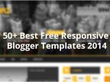 Free Blogger Templates with Slider 50 Best Free Responsive Blogger Templates 2014