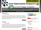 Free Blogger Templates with Slider Simple Optimal Blog Template without Slider Free Blogger
