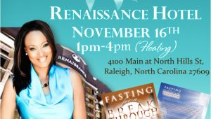 Free Book Signing Flyer Templates Fasting for Breakthrough Official Book Release
