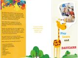 Free Brochure Templates for Kids Brochure Templates Samples Brochure Maker Publisher Plus