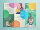 Free Brochure Templates for Kids Colorful School Brochure Tri Fold Template Download Free