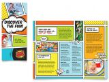 Free Brochure Templates for Kids Kids Club Brochure Template Design