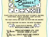 Free Bunco Flyer Template Bunco Fundraiser