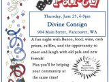 Free Bunco Flyer Template Bunco Party to Benefit assistance League Of Sw Wa Divine