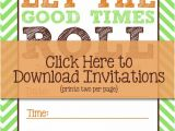 Free Bunco Flyer Template I Should Be Mopping the Floor Free Bunco Printables