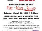 Free Bunco Flyer Template Tampa Bay Youth Initiative Collaborative Community