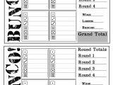 Free Bunco Scorecard Template 1000 Images About Bunko On Pinterest Bunco Party
