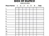 Free Bunco Scorecard Template 13 Sample Bunco Score Sheets Templates to Download