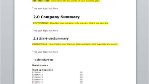 Free Business Plan Outline Template 10 Free Business Plan Templates for Startups Wisetoast