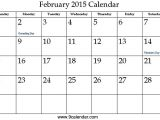 Free Calendar Template February 2015 7 Best Images Of Cute Free Printable 2016 February 2015