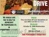 Free Can Food Drive Flyer Template 18 Food Drive Flyer Templates Psd Ai Word Free