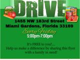 Free Can Food Drive Flyer Template Food Drive Flyer Template Postermywall