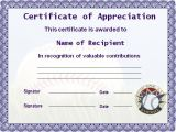 Free Certificate Templates for Word 2010 Certificate Template Graphics and Templates